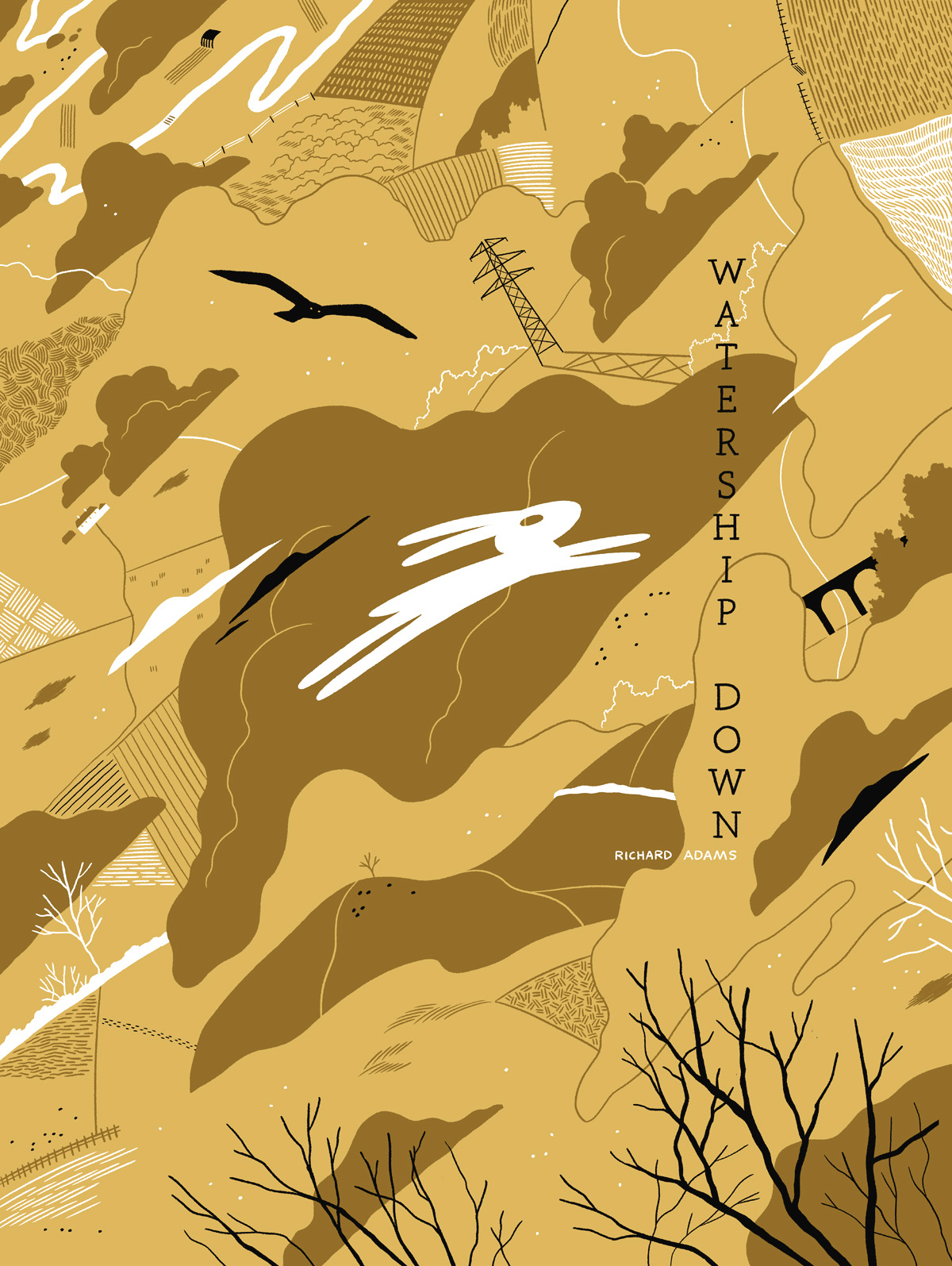 watership down - luke pearson
